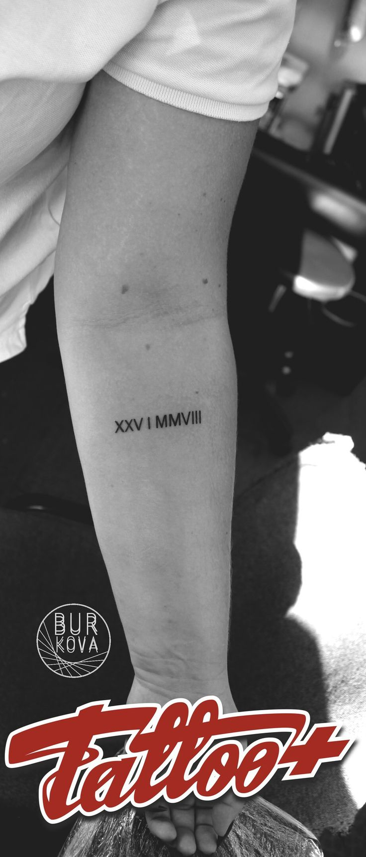 Tattoo art sketch font тату татуировка эскиз арт римские цифры лайн line linework