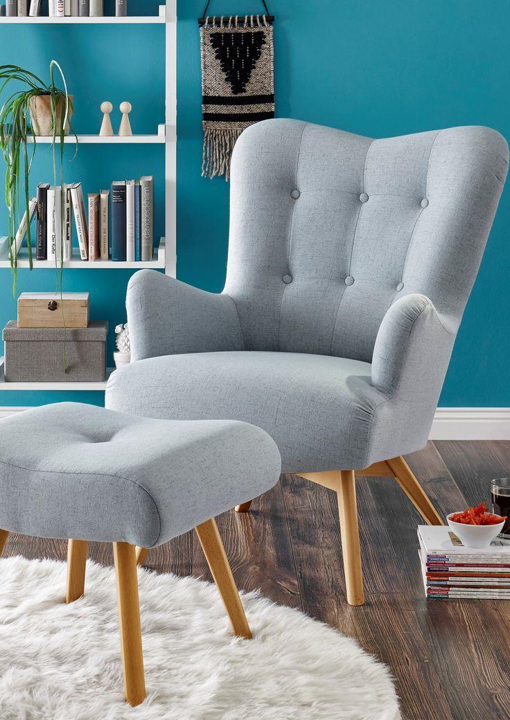 Sessel Mit Hocker Arndt Sessel Mit Hocker Sessel Wohnzimmer Modern