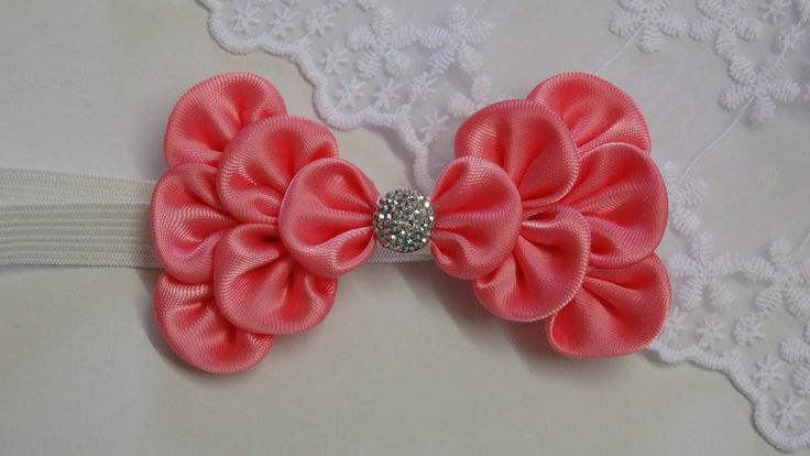 Hello everyone, i am so happy to share this video with you - How to make kanzashi ribbon bow.I really love how this bow turned out. It is so cute and perfect...
