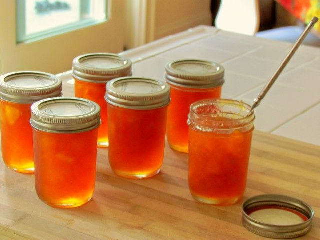 Chunky Peach Preserves from CDKitchen.com
