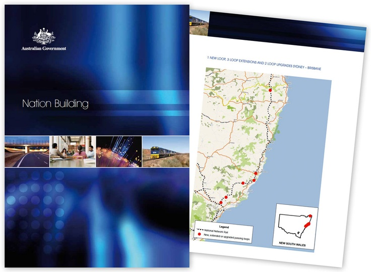Department of Infrastructure and Transport - Nation Building Report Design and Branding