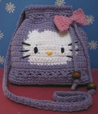 Crochet Pattern Central Bags : 17 Best ideas about Hello Kitty Crochet on Pinterest ...