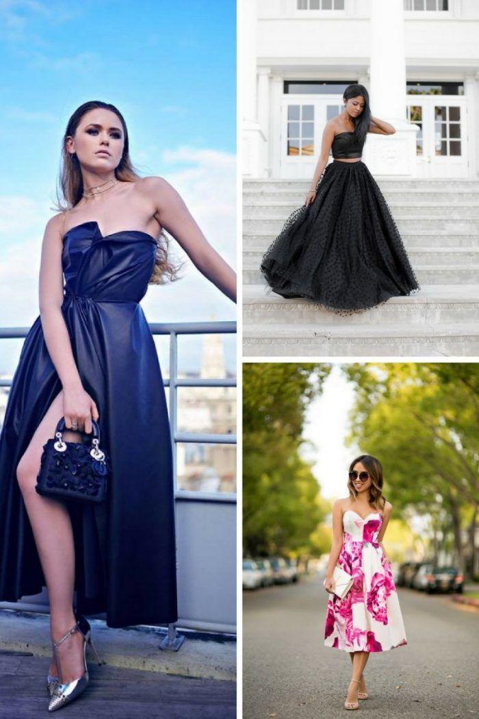 Hochzeit Gast Outfit Ideen Fur Den Sommer 2018 Mode Haar Style Summer Wedding Outfits Stunning Wedding Guest Dresses Casual Wedding Guest Dresses