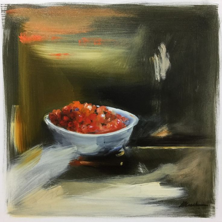 Memories, Ripe Tomatoes –  Oil on canvas PLATFORMstore