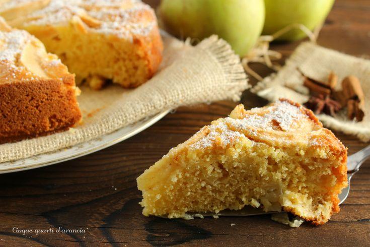 La torta di mele senza glutine è una versione di una delle torte più amate, realizzata con farina di riso e fecola di patate, adatta anche agli intolleranti