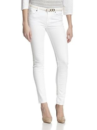 71% OFF Rockstar Women's Twill Pant (White)