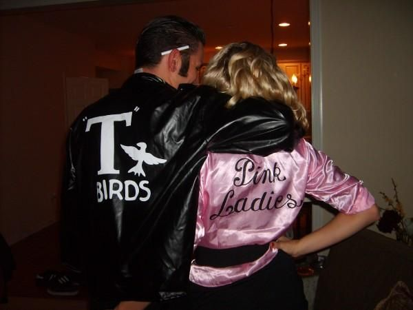 Sandy & Danny couple costume. Jake and I can so pull this off!!