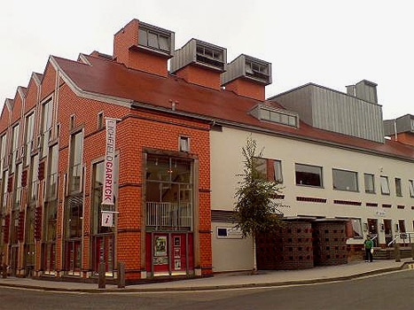 Lichfield Garrick #theatre via@pipehillhouse was a GBP 5.5 million theatre that opened in July 2003 replacing the old Arts centre and Civic Hall.