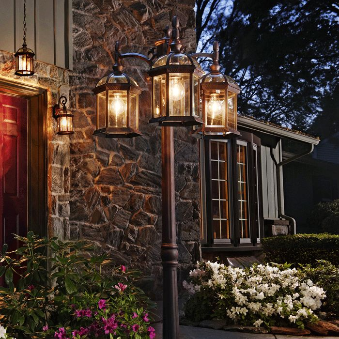Outdoor Home Lighting Prepossessing 20 Best Lightingoutside Images On Pinterest  Outdoor Walls Review