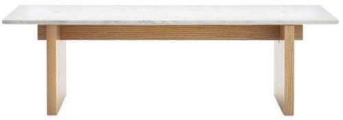 Årest vakreste bord? Stuebordet i italiensk marmor og ask seiler opp som en storfavoritt og er på alles lepper. Vekt 50 kg. H: 40 cmL: 130 cmW: 38,5 cm OBS! Dette er en bestillingsvare. 2-3 ukers leveringstid. SENDES IKKE, må hentes på showroom/lager.