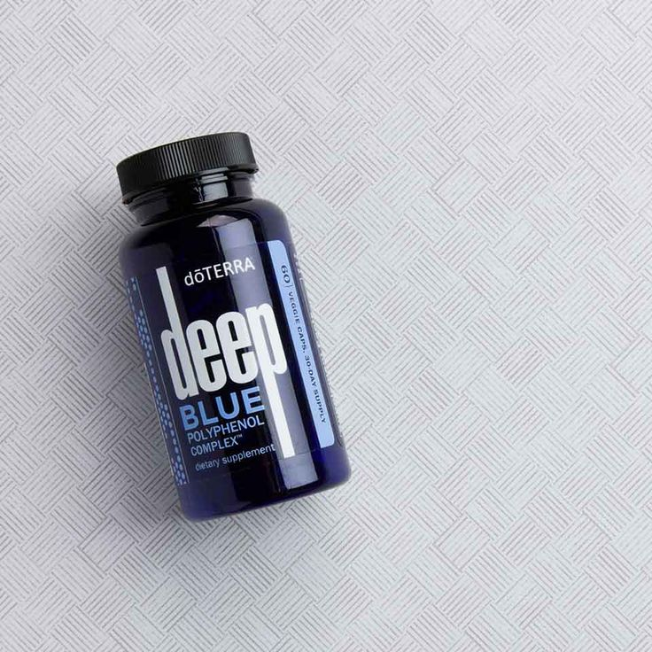 Learn more about one of the most effective products in the doTERRA Deep Blue line--Deep Blue Polyphenol Complex.