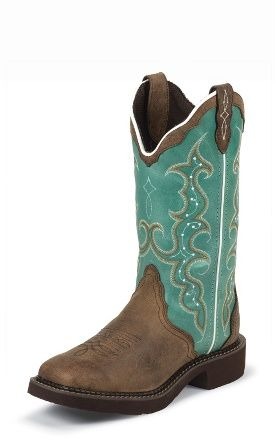 Justin Boots Justin Gypsy® L2904 BARNWOOD BROWN COW