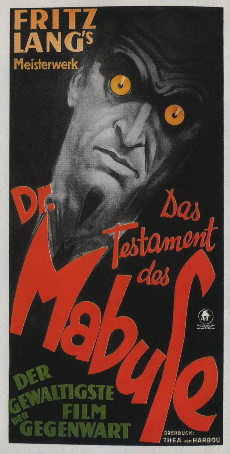 """""""Dr. Mabuse"""" 1922"""