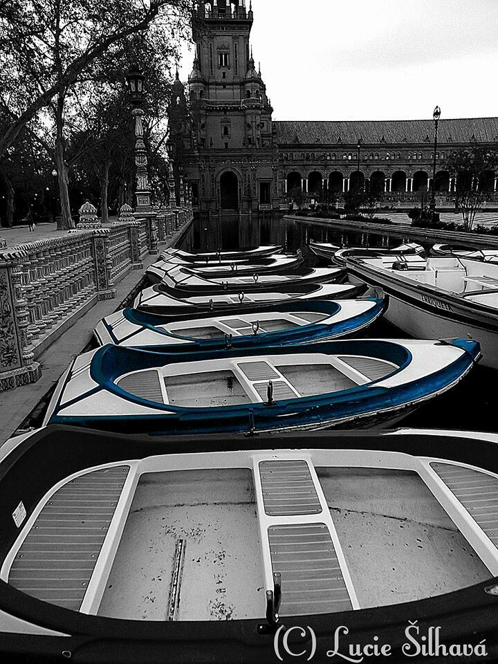 Seville - plaza de Americáno