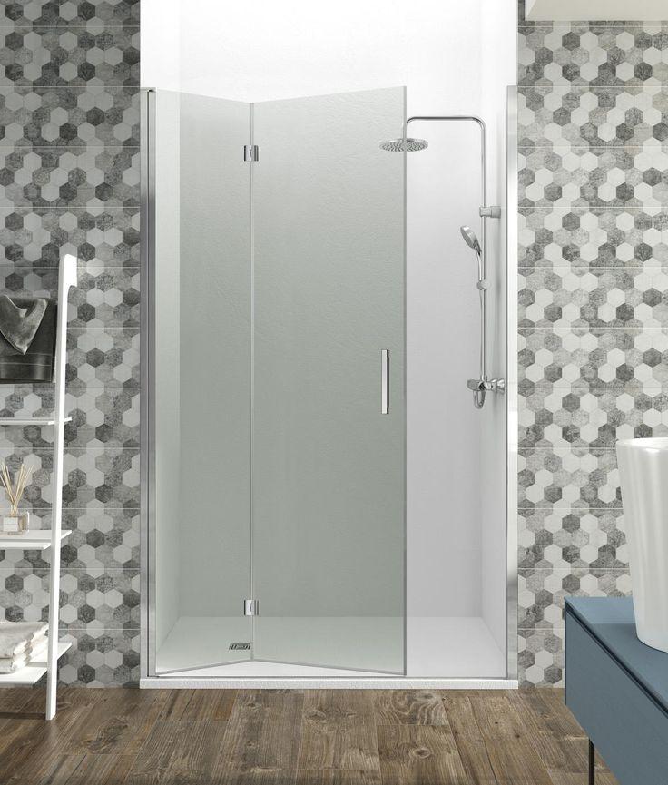 M s de 25 ideas incre bles sobre puertas plegables para - Mampara plegable ducha ...