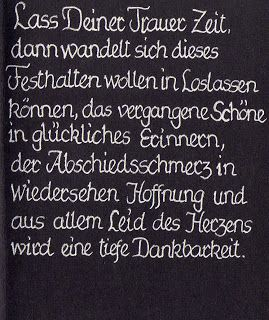 Christina´s Kalligraphie