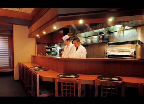 Ichiraku, an outstanding Japanese restaurant in Shinbashi, with some of the best hamo dishes I have ever had