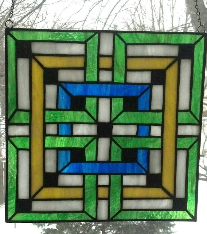 1000+ Images About Stained Glass Geometric On Pinterest