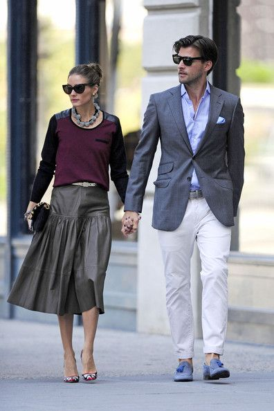 Olivia Palermo Photo - Olivia Palermo and Johannes Huebl Out Together - Reiss skirt