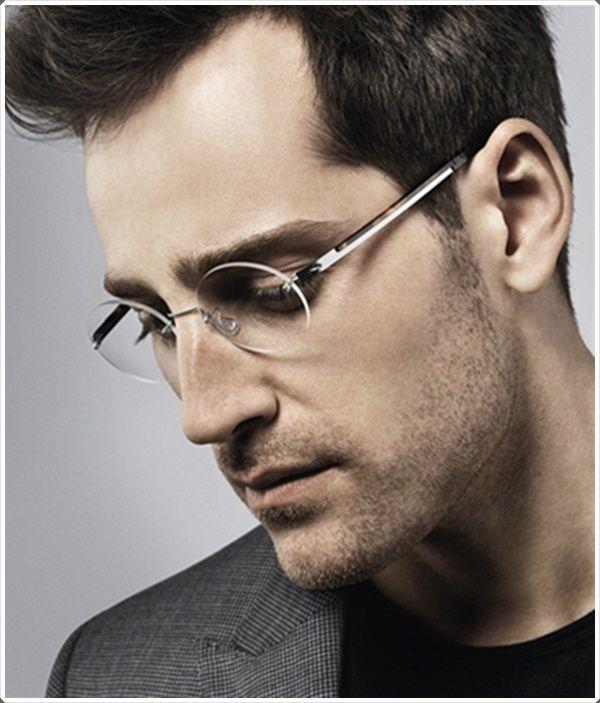 36c81da121c Spotlight on Lindberg Custom Rimless Lenses. mens round glasses frames