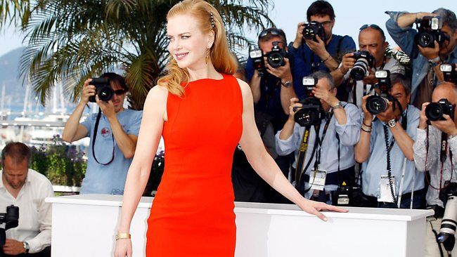 Nicole Kidman at Cannes presenting The Paperboy. She fought for the scene where she pees on Zac Efron!: Nicole Kidman, Zac Efron