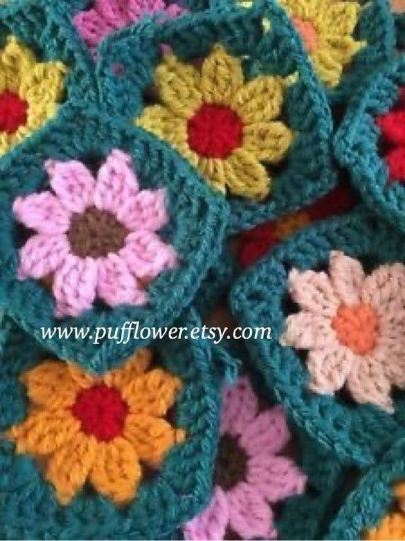 30 Crochet Granny Squares In Vintage Colours Granny Square Crochet Pattern Crochet Square Patterns Crochet Flower Squares,How To Get Rid Of Black Ants In Car