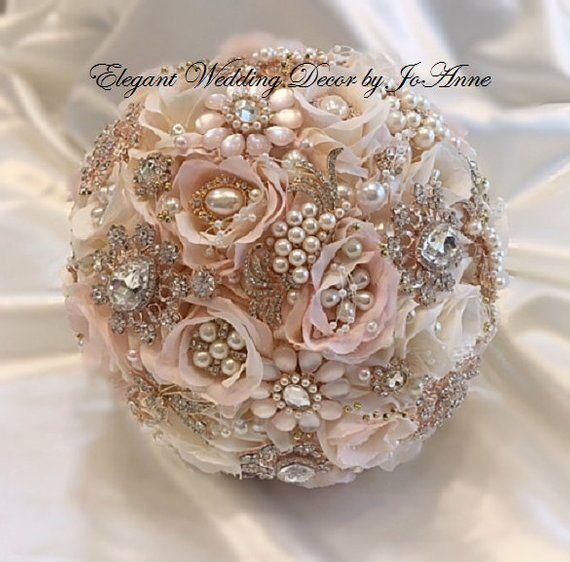 Bouquet Da Sposa Gioiello.Personalizzati Spilla Bouquet Bouquet Da Sposa Gioiello Rosa