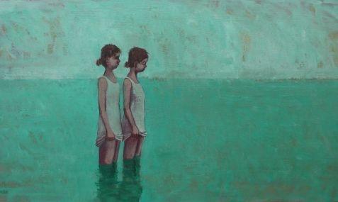 Stuart Buchanan, 'Shallows', Oil on Board, 2011.