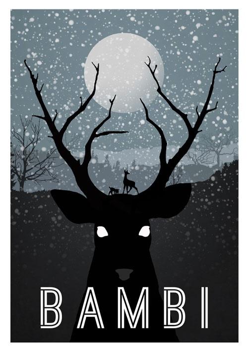 Bambi: Movie Posters, Bambi, Art, Movies, Disney Posters, Minimalist Poster, Design, Disney Movie