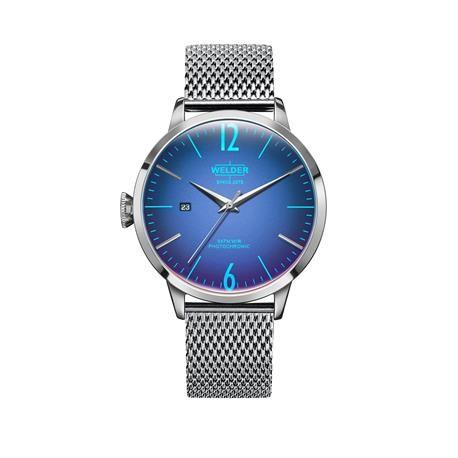 Reloj señora y caballero WELDER Moody. Azul eléctrico. WRC805