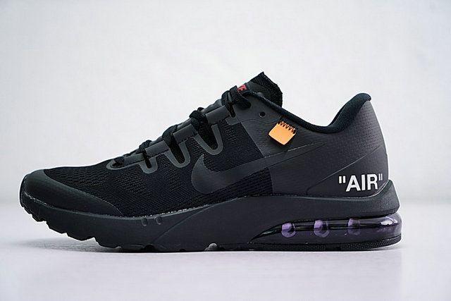 Air Max Saunterer Triple Black Shoe