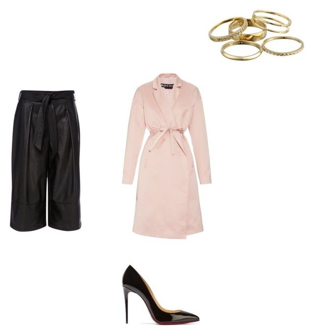 """""""Untitled #116"""" by omaimet on Polyvore featuring Episode, Christian Louboutin, Kendra Scott and Rochas"""
