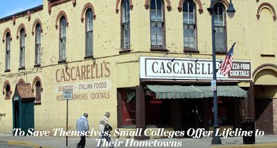 Focus on Small Colleges Successfully Working with their Communities