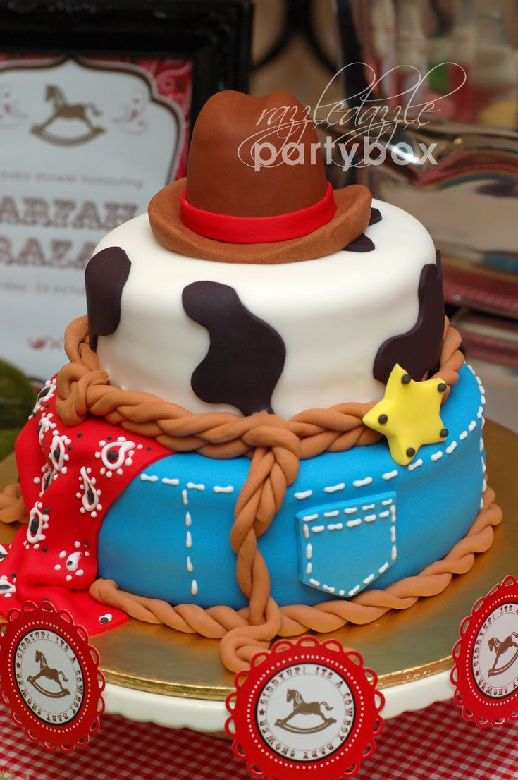 Cowboy Baby Shower Theme Party | Razzle Dazzle Party Box: Baby Party: Lil  Cowboy