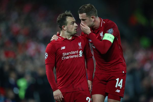 Jordan Henderson Photos Photos Liverpool Vs Barcelona Uefa Champions League Semi Final Second Leg Uefa Champions League Champions League Champions League Semi Finals
