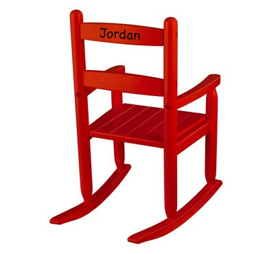 12 best ideas for toys for babies of all ages baby gift idea a little rocking chair with their name on it this will last long after he negle Image collections
