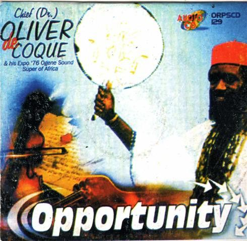 Oliver De Coque - Opportunity - CD
