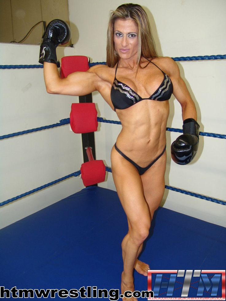 Maria Garcia Female Bodybuilder By Hitthemat  Js33543 -6150