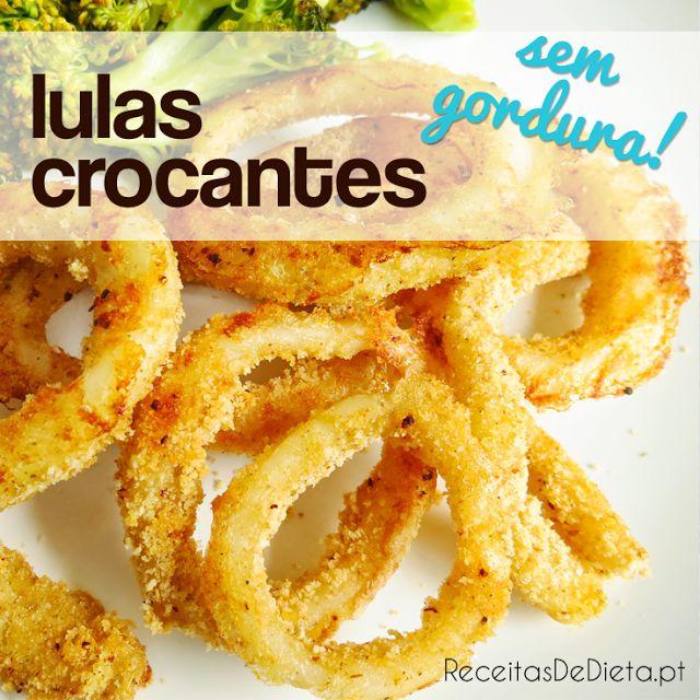 Argolas de Lulas Crocantes (sem gordura)