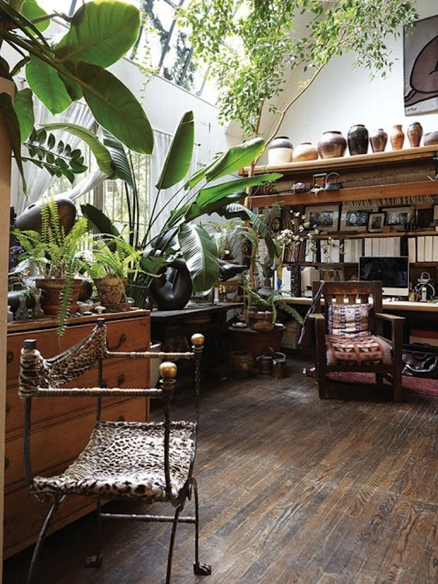 目指したい?! お部屋の中が緑でいっぱいのお家♡観葉植物の上級者に学ぼう♪