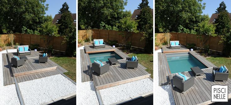 Les 25 meilleures id es de la cat gorie patio ferm sur for Piscine petite taille