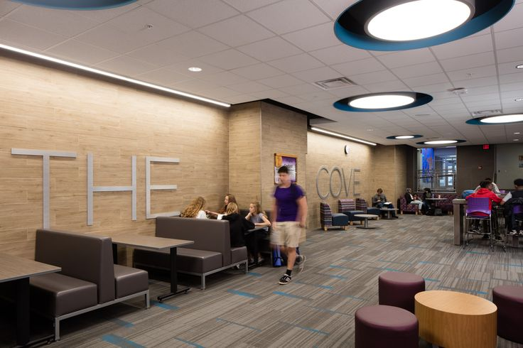 Minneapolis Southwest High School Learning Commons...architecture, design, tables, chairs, computers, lighting, booths