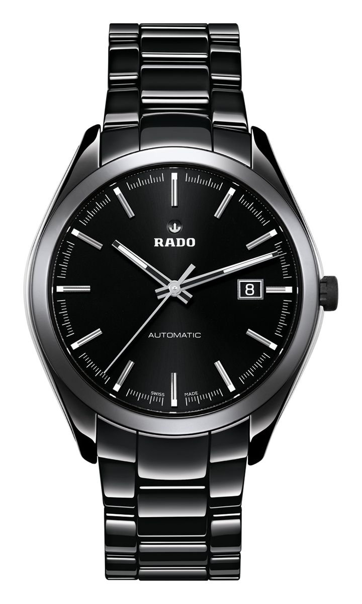 switzerland watches s men made black heinrichsjewel pinterest in nap on watch rado best egy mens automatic ceramic high tech dark hyperchrome images