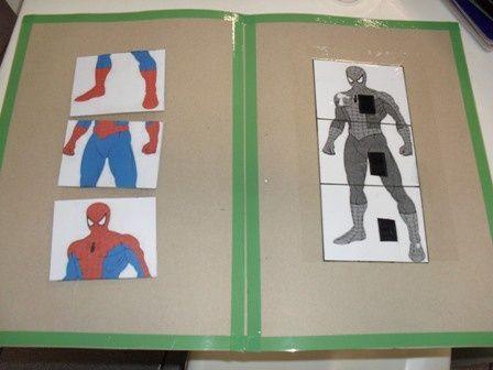 TEACCH task-- student's preferred image/interest