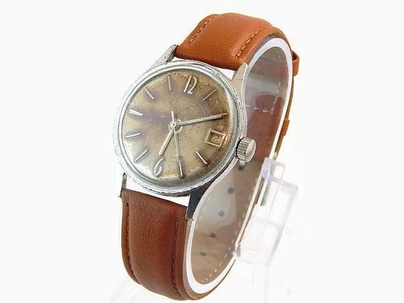 Vostok Watch Mechanical Vostok Watches Mens by SovietLegacy