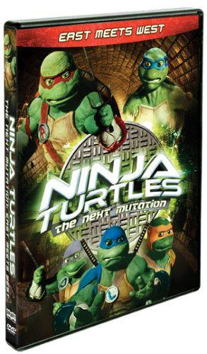 Ninja Turtles: The Next Mutation– East Meets West DVD US/CAN 3/28