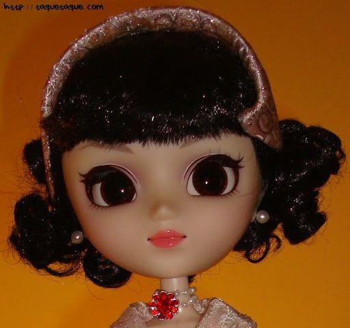 """Pullip Princess Ann: Audrey Hepburn en """"Vacaciones en Roma"""" (""""Roman Holiday""""). Vestido del final de la película."""