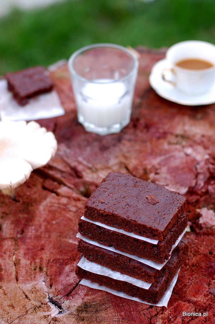Bauckohof brownies and rice milk blog.bionica.pl