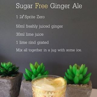 Love my #sugarfree ginger ale #recipe #justlovecooking #gingerale