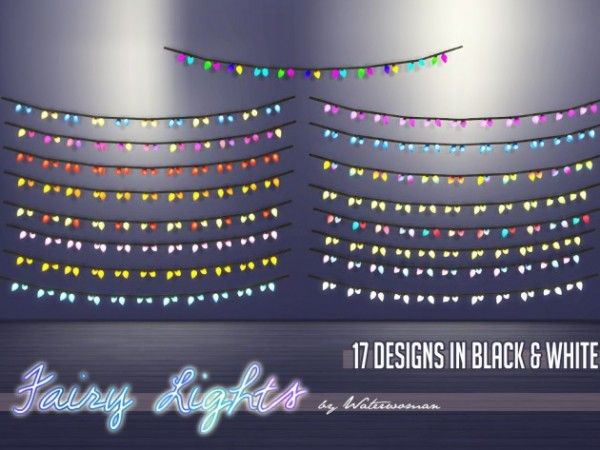 Akisima Sims Blog: Fairy Lights • Sims 4 Downloads